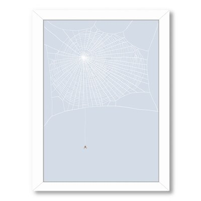 Spider and Web Framed Graphic Art UNFP7495 33491855