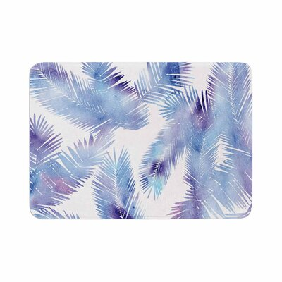 Draper Tropic Breeze Digital Memory Foam Bath Rug Size: 0.5 H x 24 W x 36 D