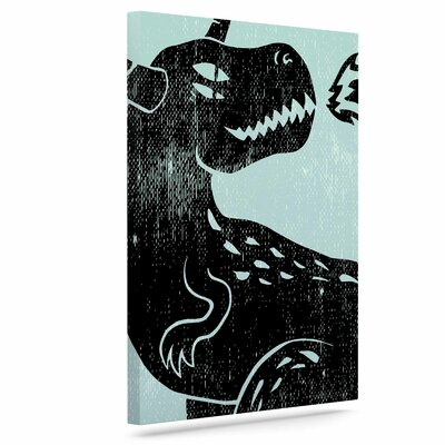 'Fire Monster' Graphic Art Print on Canvas EUHH8899 38165458