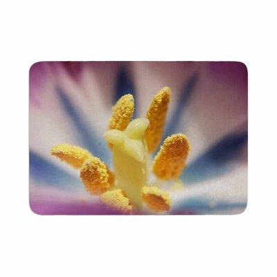 Angie Turner Tulip Memory Foam Bath Rug Size: 0.5 H x 24 W x 36 D