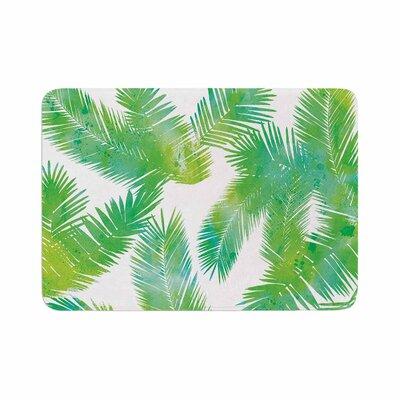 Draper Tropic Summer Memory Foam Bath Rug Size: 0.5 H x 24 W x 36 D