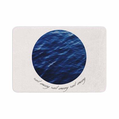 Sail Away Memory Foam Bath Rug Size: 0.5 H x 24 W x 36 D