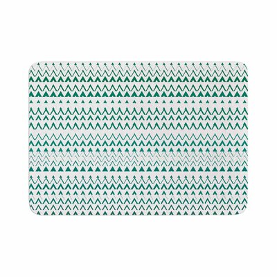 Bridgette Burton Revel Chevron Memory Foam Bath Rug Size: 0.5 H x 24 W x 36 D