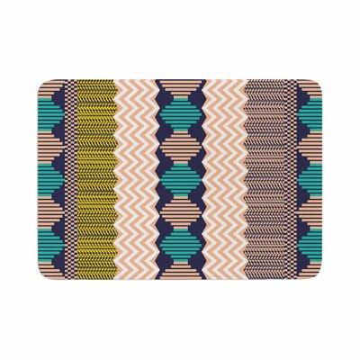 Akwaflorell Knitted 3 Pattern Memory Foam Bath Rug Size: 0.5 H x 24 W x 36 D