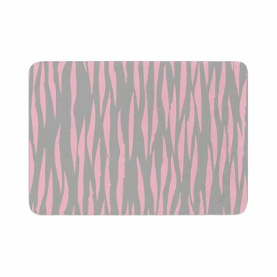 Wildlife Animal Print 12 Painting Memory Foam Bath Rug Size: 0.5 H x 24 W x 36 D