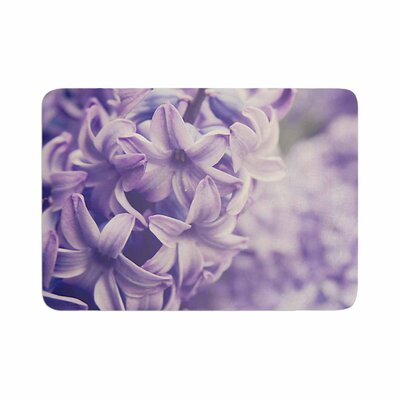Angie Turner Lavender Dreams Memory Foam Bath Rug Size: 0.5 H x 17 W x 24 D