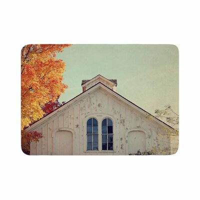 Angie Turner Fall Barn Top Photography Memory Foam Bath Rug Size: 0.5 H x 17 W x 24 D