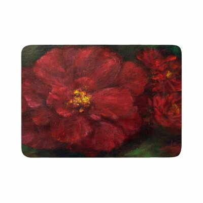 Cyndi Steen My Beauty Memory Foam Bath Rug Size: 0.5 H x 17 W x 24 D