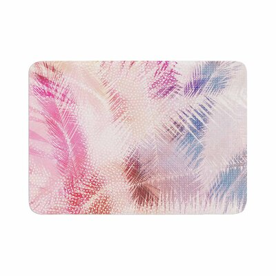 Cafelab Sweet Tropical Abstract Memory Foam Bath Rug Size: 0.5 H x 17 W x 24 D
