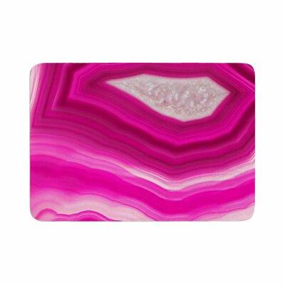 Cafelab Bold Agate Memory Foam Bath Rug Size: 0.5 H x 17 W x 24 D