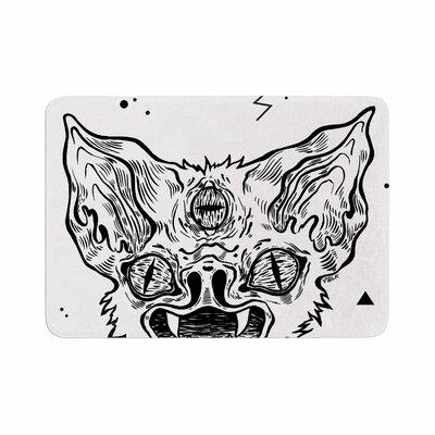 Anya Volk Its Bat Memory Foam Bath Rug Size: 0.5 H x 24 W x 36 D