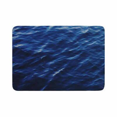 Sea Calm Memory Foam Bath Rug Size: 0.5 H x 17 W x 24 D