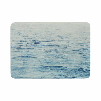 Debbra Obertanec Foggy Morning Ocean Coastal Memory Foam Bath Rug Size: 0.5 H x 17 W x 24 D