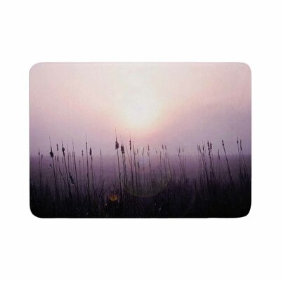 Angie Turner Sunrise Cattails Memory Foam Bath Rug Size: 0.5