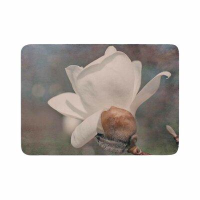 Angie Turner Magnolia Digital Floral Memory Foam Bath Rug Size: 0.5 H x 24 W x 36 D