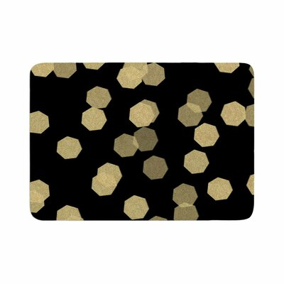 Chelsea Victoria Confetti Noir Memory Foam Bath Rug Size: 0.5 H x 17 W x 24 D