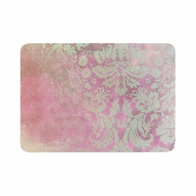 Cafelab Spring Damask Memory Foam Bath Rug Size: 0.5 H x 17 W x 24 D