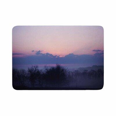 Angie Turner Sunrise Memory Foam Bath Rug Size: 0.5 H x 17 W x 24 D