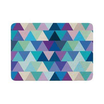 Draper Crystal Geometric Memory Foam Bath Rug Size: 0.5 H x 17 W x 24 D