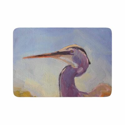 Carol Schiff Tropical Sentry Animals Memory Foam Bath Rug Size: 0.5 H x 24 W x 36 D