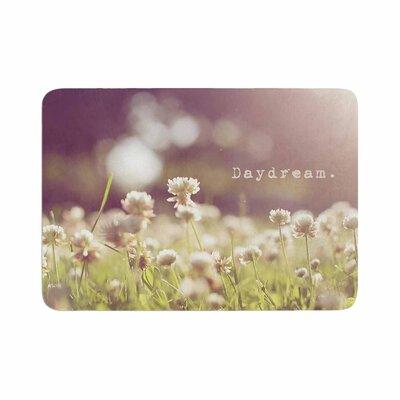 Angie Turner Daydream Floral Memory Foam Bath Rug Size: 0.5 H x 17 W x 24 D