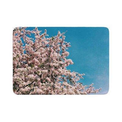 Blossom Tree Memory Foam Bath Rug Size: 0.5 H x 17 W x 24 D
