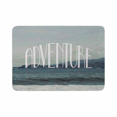 Adventure Photography Memory Foam Bath Rug Size: 0.5 H x 24 W x 36 D