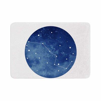 Ursa Major Celestial Memory Foam Bath Rug Size: 0.5 H x 24 W x 36 D