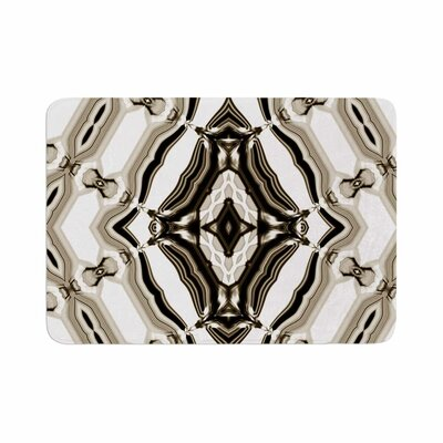 Dawid Roc Inspired by Psychedelic Art 6 Pattern Memory Foam Bath Rug Size: 0.5