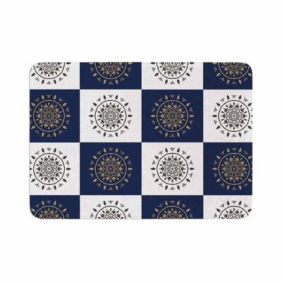 Cristina Bianco Design Mandalas * Pattern Memory Foam Bath Rug Size: 0.5 H x 24 W x 36 D