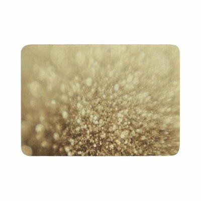 Glitterati Photography Memory Foam Bath Rug Size: 0.5 H x 17 W x 24 D