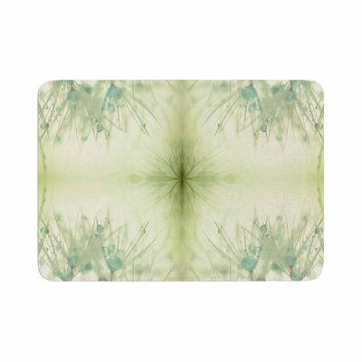 Ginkelmier Dandelion Dreams in Abstract Memory Foam Bath Rug Size: 0.5 H x 17 W x 24 D