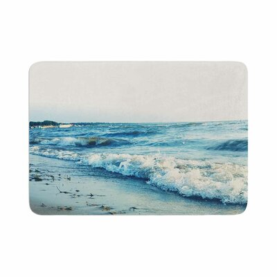 Beyond the Sea Coastal Memory Foam Bath Rug Size: 0.5 H x 24 W x 36 D