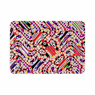 Dawid Roc Camouflage Pattern 2 Abstract Memory Foam Bath Rug Size: 0.5 H x 24 W x 36 D
