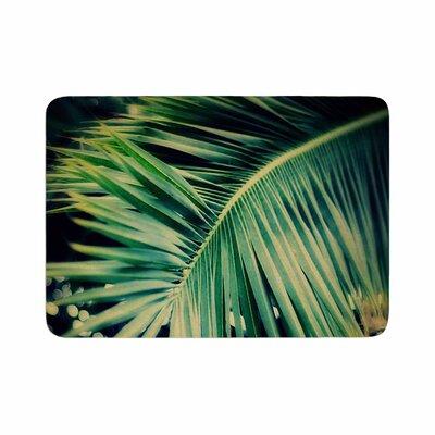 Angie Turner Palm Frond Memory Foam Bath Rug Size: 0.5 H x 24 W x 36 D