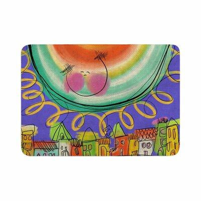 Carina Povarchik Sun Memory Foam Bath Rug Size: 0.5 H x 24 W x 36 D