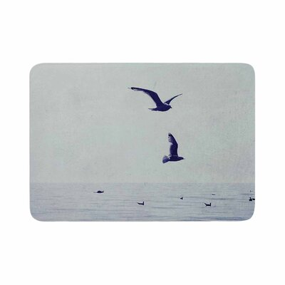 Chelsea Victoria Two If by Sea Nautical Photography Memory Foam Bath Rug Size: 0.5 H x 17 W x 24 D