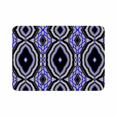 Dawid Roc Inspired by Psychedelic Art 3 Abstract Memory Foam Bath Rug Size: 0.5 H x 17 W x 24 D