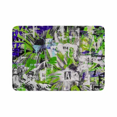 Bruce Stanfield Life Through Adversity 2 Abstract Memory Foam Bath Rug Size: 0.5 H x 17 W x 24 D