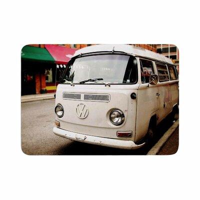 Angie Turner VW Bus Vintage Memory Foam Bath Rug Size: 0.5 H x 24 W x 36 D