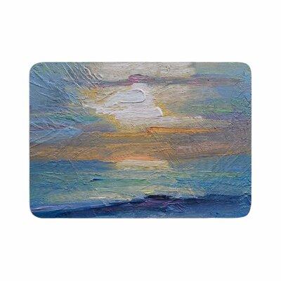 Carol Schiff Ocean Sunset Coastal Memory Foam Bath Rug Size: 0.5 H x 17 W x 24 D