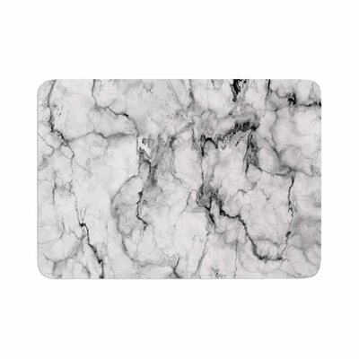 Marble No 2 Modern Memory Foam Bath Rug Size: 0.5 H x 24 W x 36 D