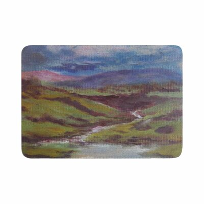 Cyndi Steen Dreaming of Scotland Memory Foam Bath Rug Size: 0.5