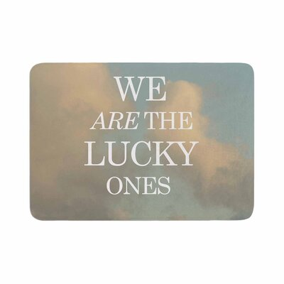 The Lucky Ones Memory Foam Bath Rug Size: 0.5 H x 17 W x 24 D