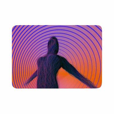 Danny Ivan Human Soul Memory Foam Bath Rug Size: 0.5 H x 24 W x 36 D