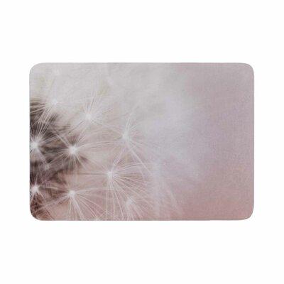 Dandelion Dreams Floral Memory Foam Bath Rug Size: 0.5 H x 17 W x 24 D