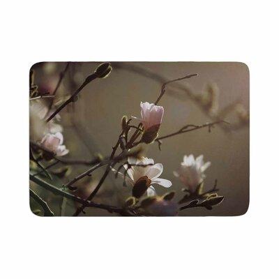 Angie Turner Magnolia Blooms Memory Foam Bath Rug Size: 0.5 H x 24 W x 36 D