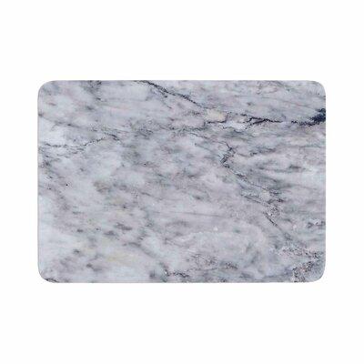 Marble Memory Foam Bath Rug Size: 0.5 H x 17 W x 24 D