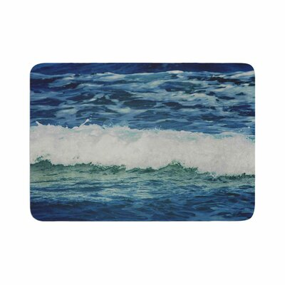 Sink Back Into Coastal Memory Foam Bath Rug Size: 0.5 H x 17 W x 24 D