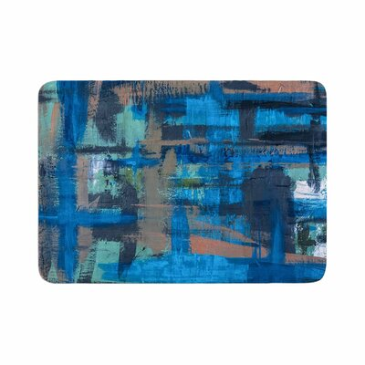 Bruce Stanfield Hyper Painting Memory Foam Bath Rug Size: 0.5 H x 17 W x 24 D